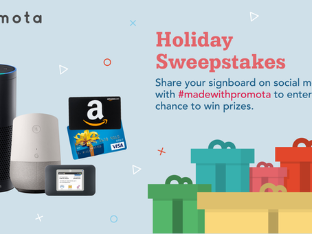 [CLOSED] #MadeWithPromota Holiday Giveaway