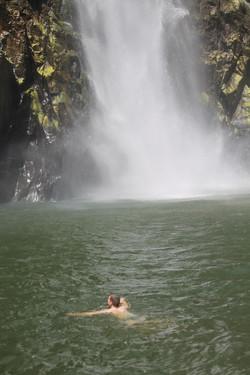 swim below falls 4
