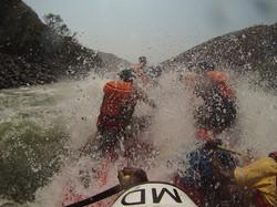 Shockwave GoPro Zambezi River Photo