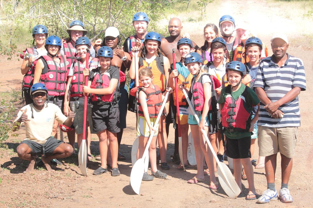 Family Rafting Shockwave Adventures
