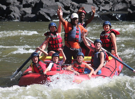 White Water Rafting Trips On
