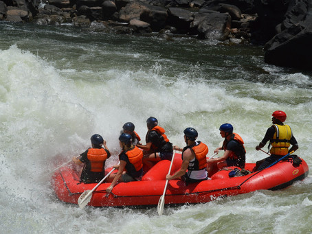 Whitewater Rafting Full Day or Full Stretch on the Zambezi river