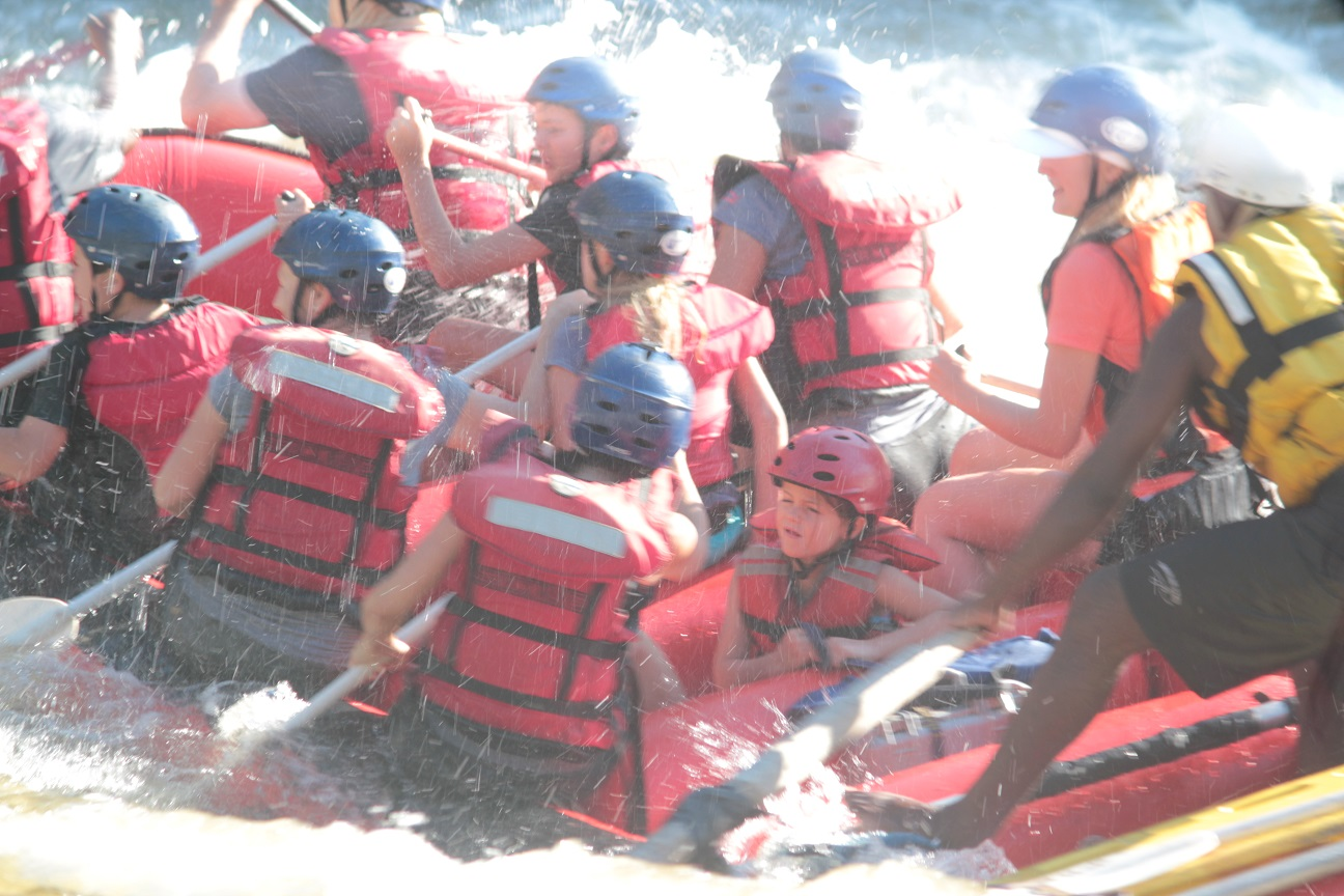 Shockwave Kids rafting 3