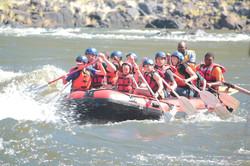 Shockwave Kids rafting