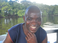 Tabuya of Shockwave Adventures Victoria Falls offering what he knows best about whitewater rafting tours
