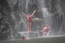 swim below falls 2