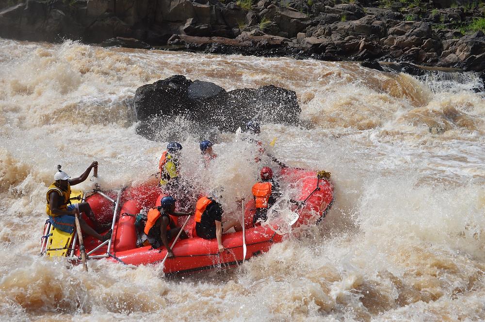 Zambezi Rapid on 27/1/16
