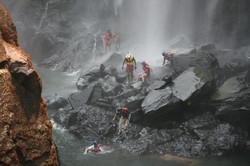 Shockwave Swim Below Vic falls