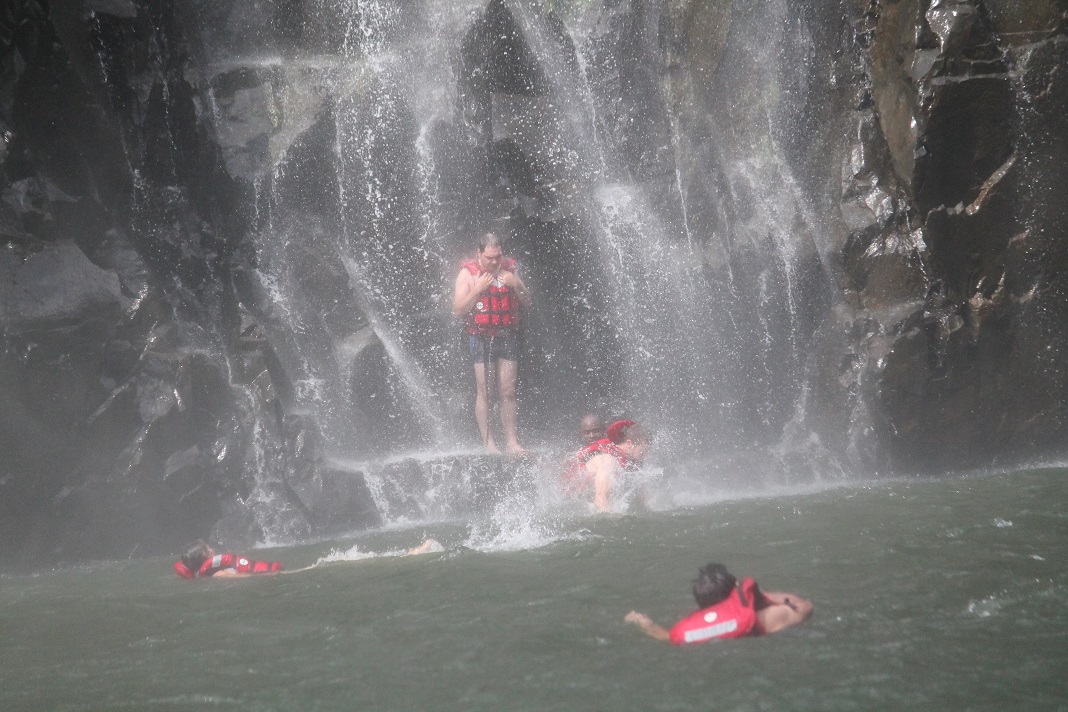 swim below falls 3