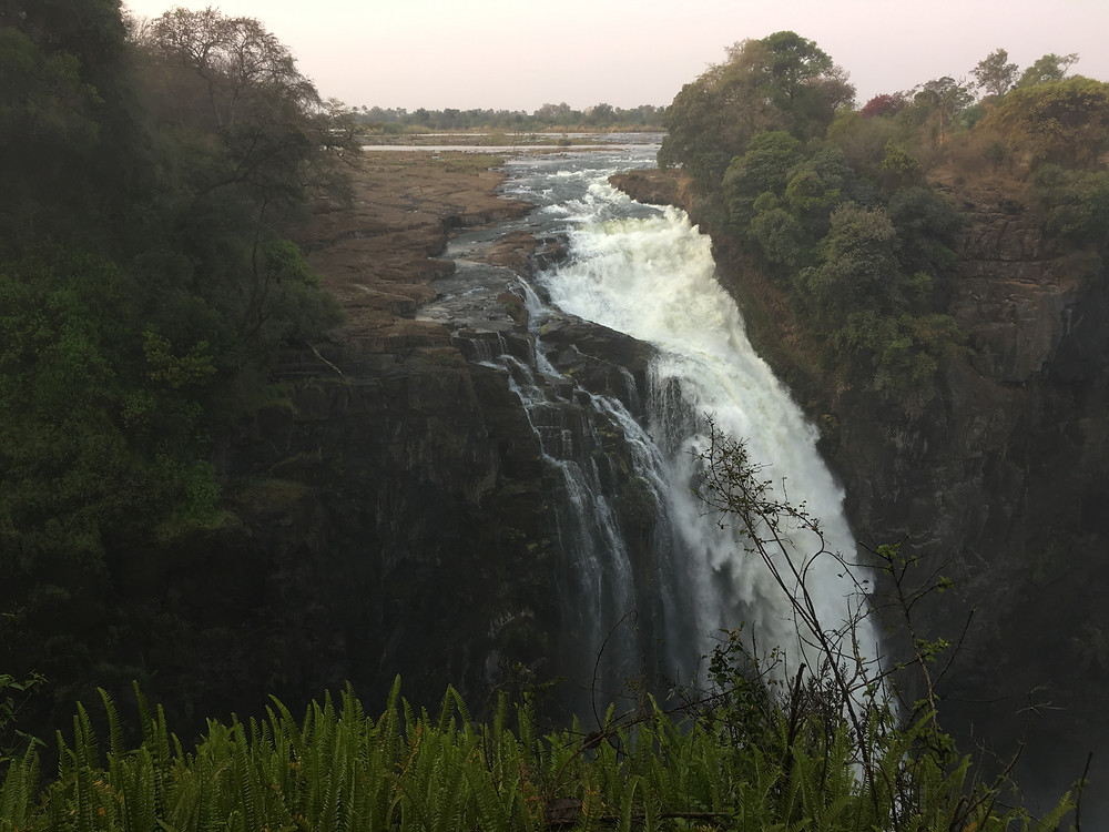 Devil's Cataract Viewing from Zimbabwe side