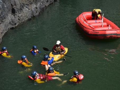 Shockwave Rafting Safety Talk
