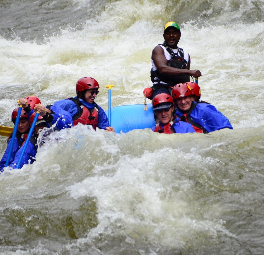 Timberline Tours Rafting on the 4th