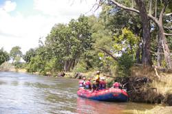 Raft Float seeing elephants
