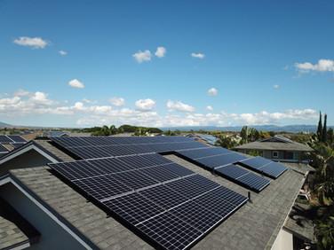 Ewa Beach Solar Installation-48 Panels