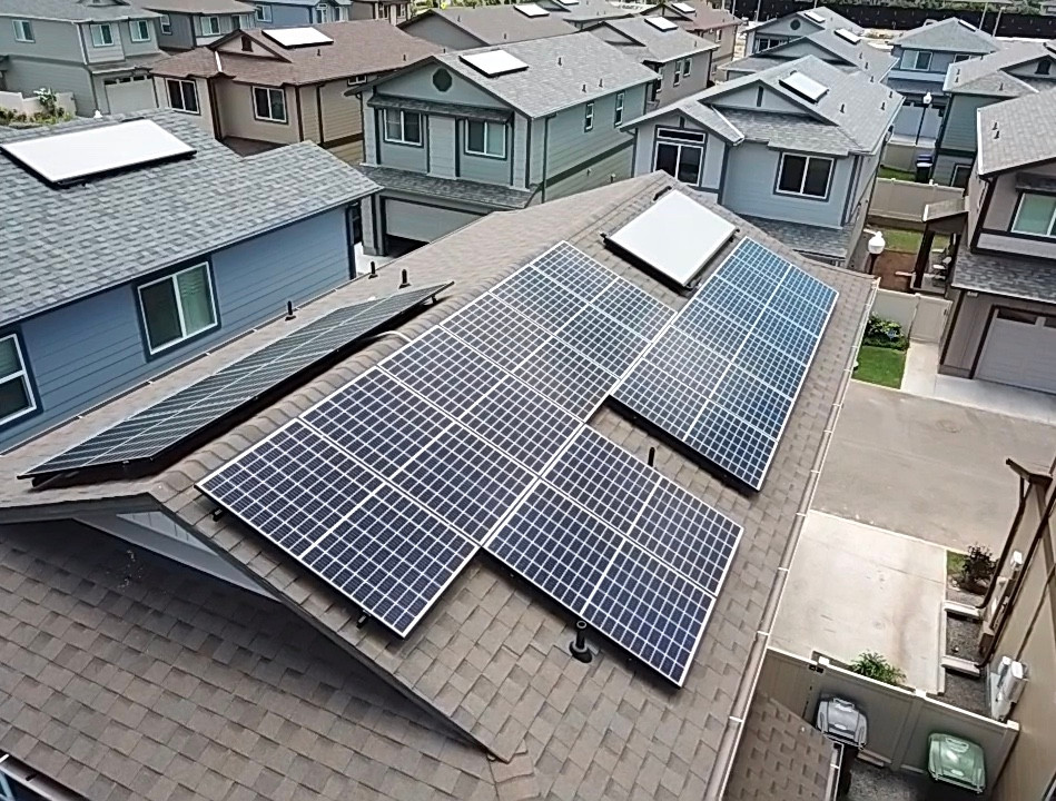 New Construction Solar Panels
