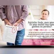 Panfleto criativo Aula Particular ou Reforço de Português