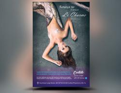 Panfleto Criativo Salão de Beleza