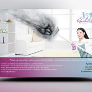 Panfleto criativo Limpeza Doméstica e Diarista