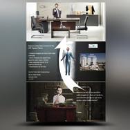 Panfleto criativo Imobiliária / Imóveis / Corretor Imobiliário