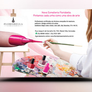 Panfleto criativo salão de beleza , cabeleireira, manicure