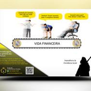 Panfleto criativo Investimento Financeiro