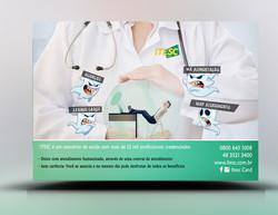 Panfleto Criativo Plano de Saúde