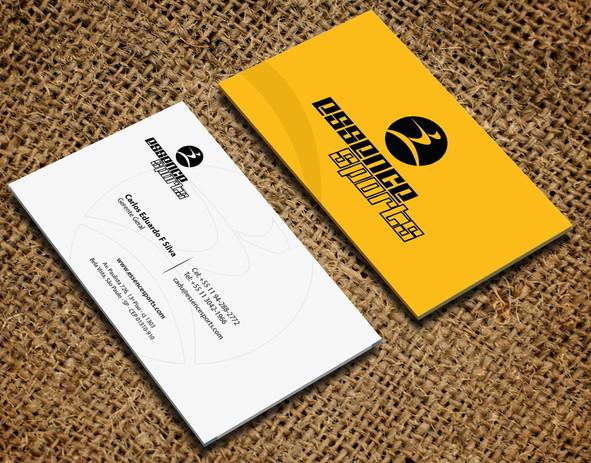 Cartão de visita Profissional de Ecommerce de Esporte