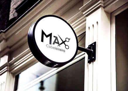 Logo Max Cabeleireiro