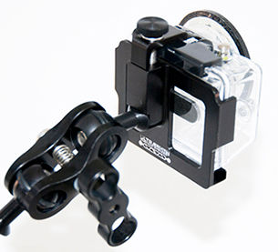 Cage to go over a GoPro Hero1, 2, 3, 3+ with a regular back