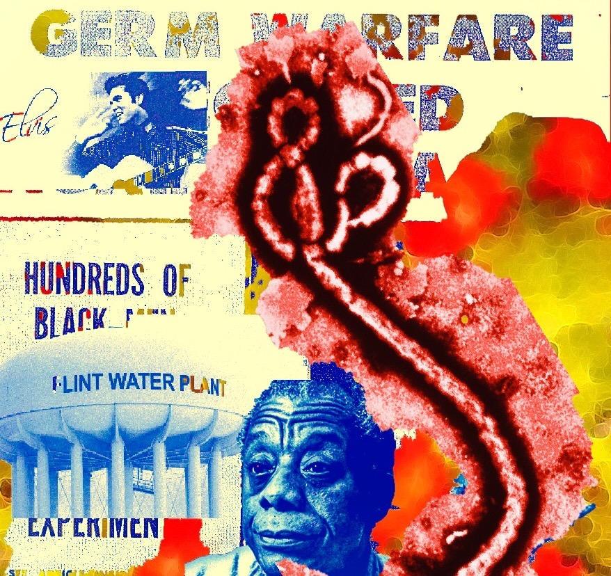 Germ Warfare/Baldwin Series Digital Collage