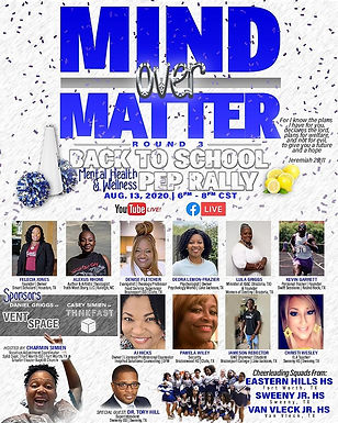 Mind Over Matter Back To School Pep Rally
