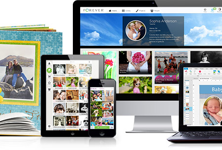 Organize your photos. Curate your memories. Share yourself.