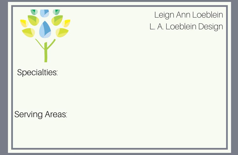 L.A. Loeblein Design