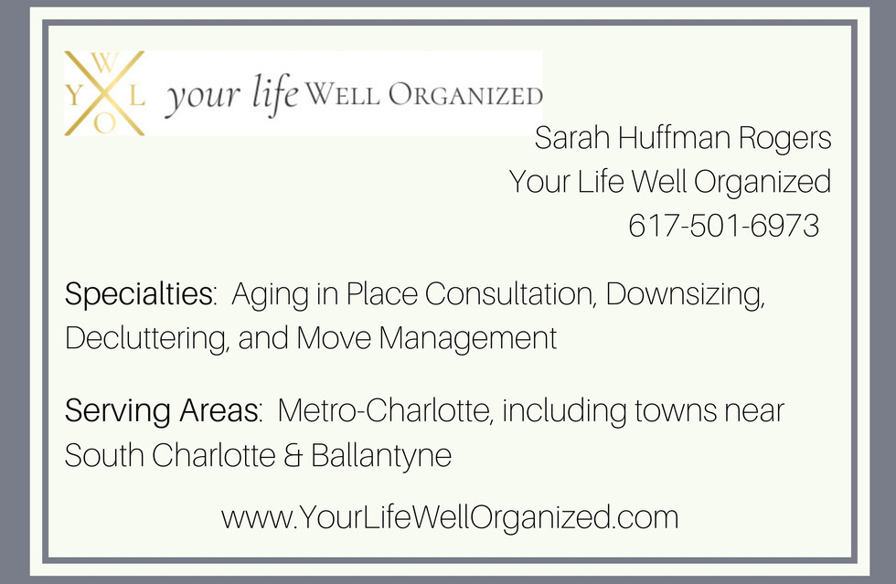 Your Life Well Organized