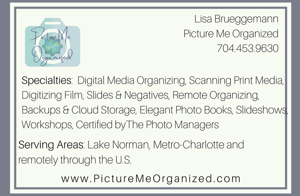 Picture Me Organized