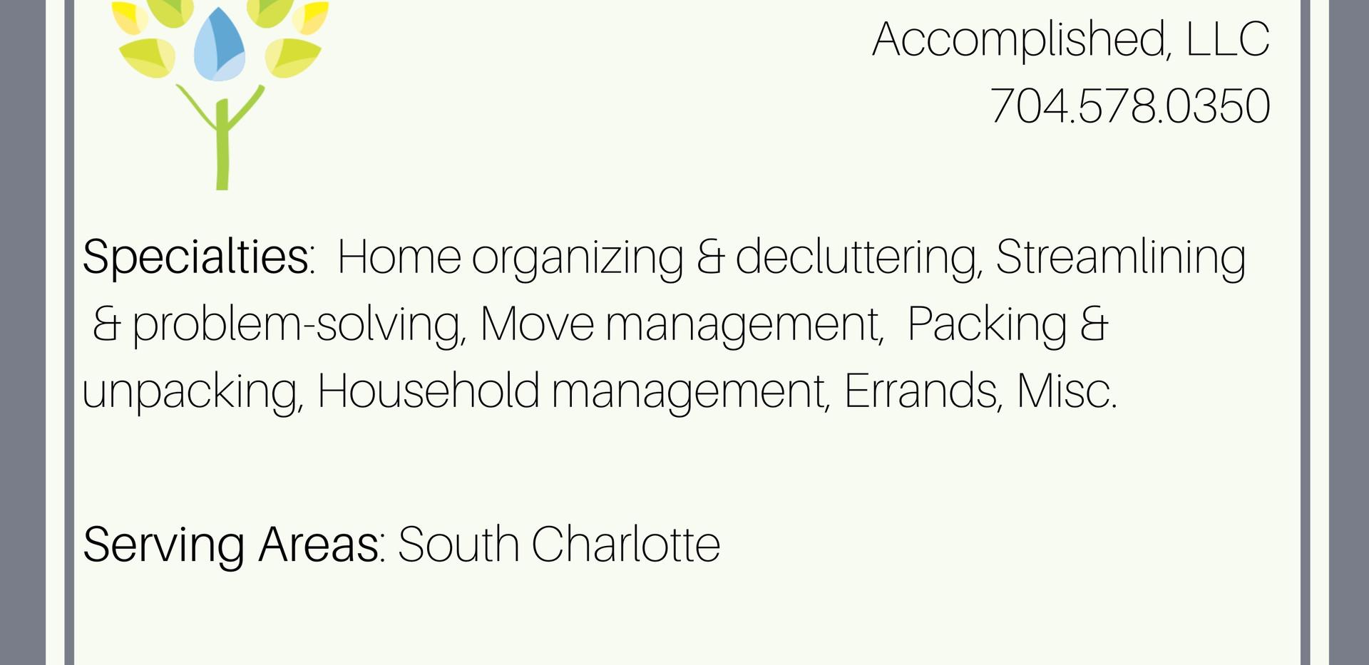 Accomplished, LLC