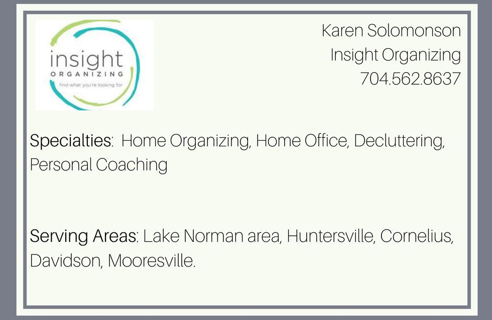 Insight Organizing