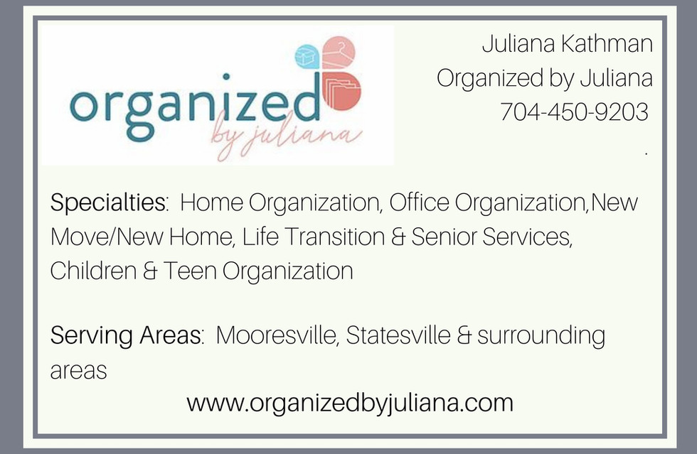 Organized by Juliana