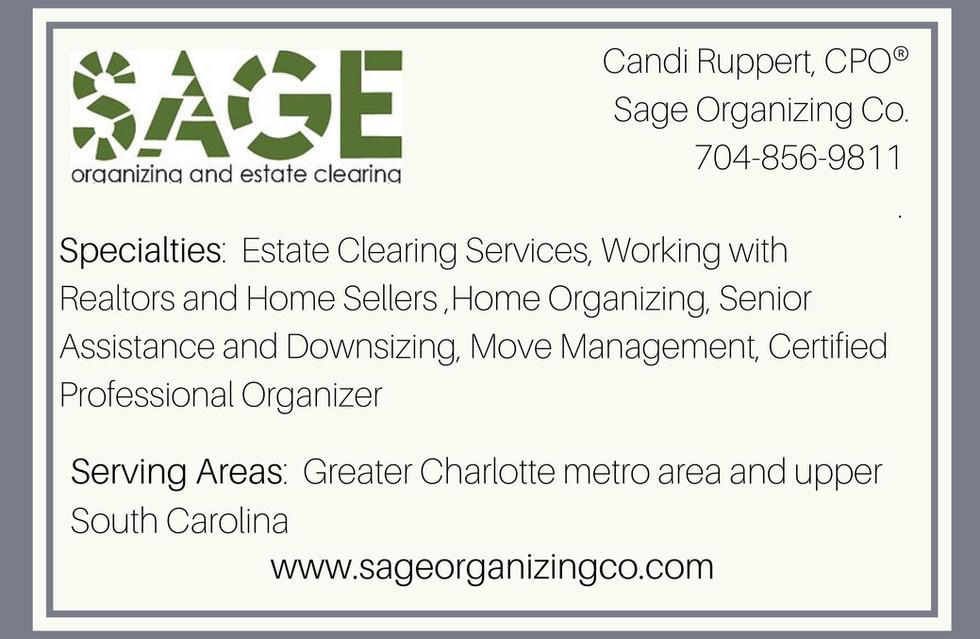 Sage Organizing