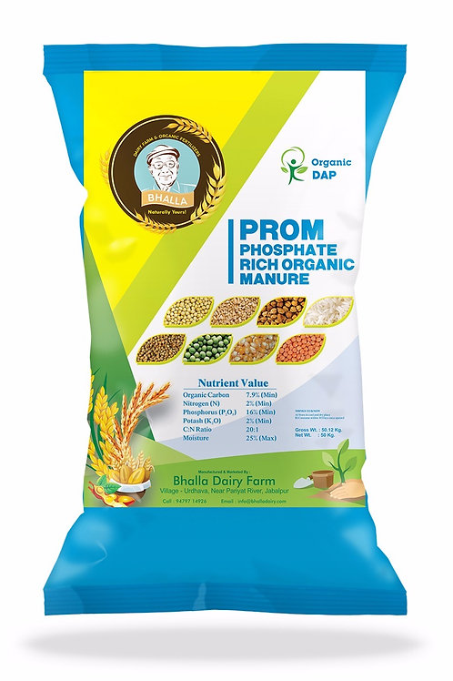 PROM (Phosphate Rich Organic Manure)