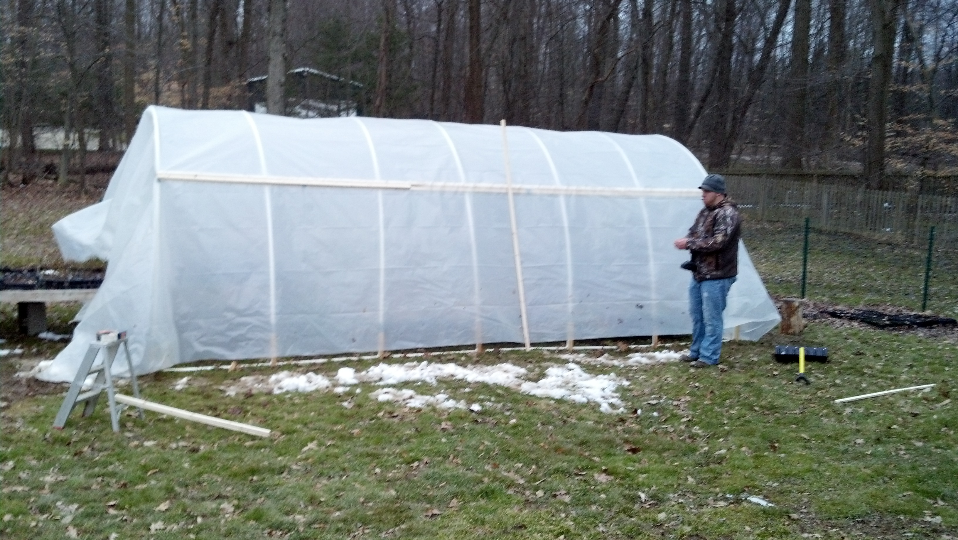 Hoop House Construction 2013