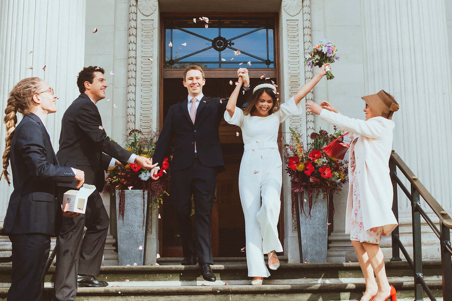 Old Marylebone Town Hall Micro London Wedding
