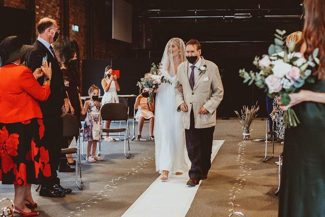 Gas Street Church Birmingham Wedding Photography