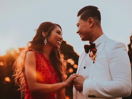 Dazzling Asian Wedding in Surrey