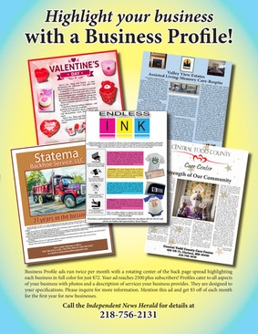 Highlight your business with a Business Profile!