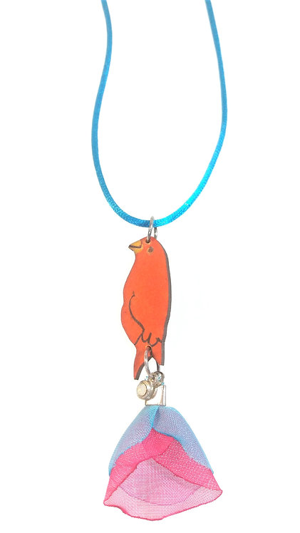Pássaro - flor