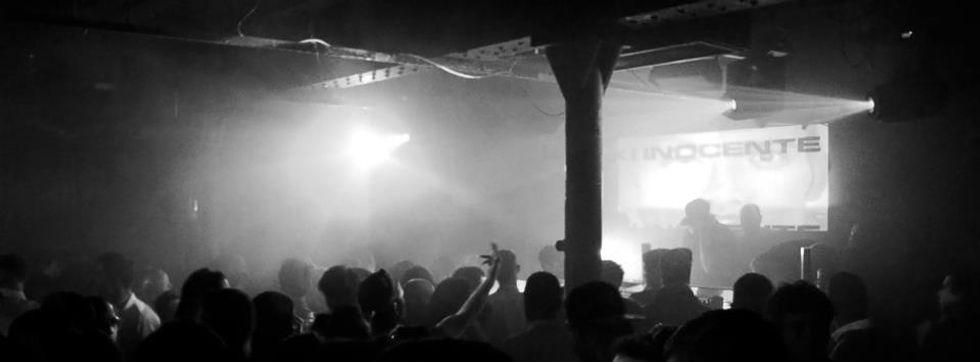 House Music Event. Riki Inocente DJ set Egg Club
