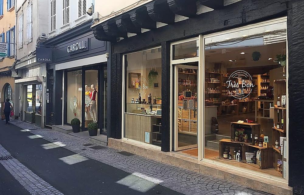 Epicerie fine Très Bon 9 rue Emile Zola à Castres