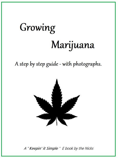 Growing Marijuana Ebook