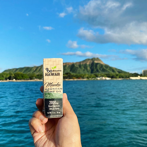 Mauka Hawaiian Hemp Oil